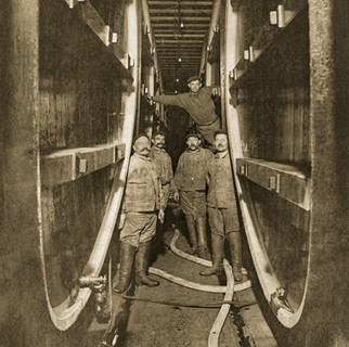 Lager Cellar, Bavarian Brewing Co., Covington, KY 1890s
