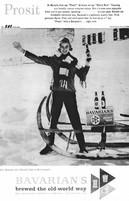 The BAVARIAN GIRL Prosit Ad - for Bavarian's Select Beer.