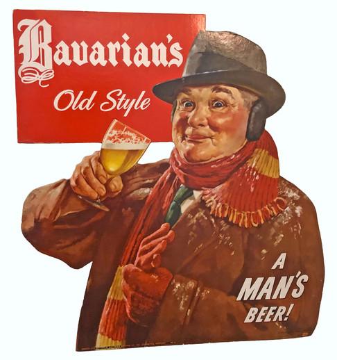 Bavarians OS Man Winter Coat with Sandwh