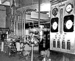 Control Panel, Bavarian Brewing Co., Covington, KY 1940s