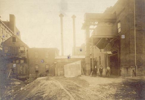 Bavarian Brewing Co. Boiler House - Unrestored