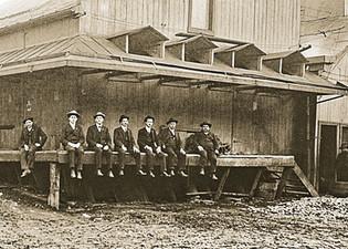On the Dock, Bavarian Brewing Co., Covington, KY c. 1900