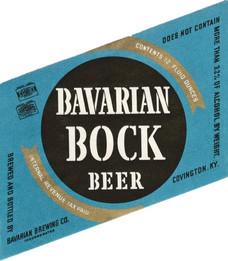 Bavarian Bock Black on Blue 1940-1946 12