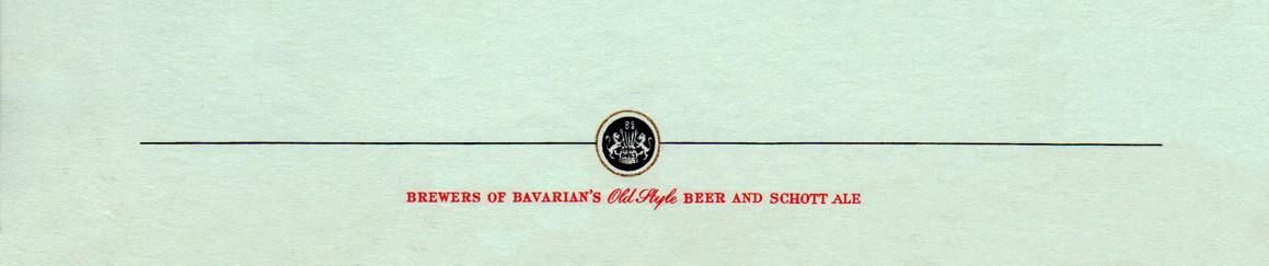 Bavarian Old Style Schott Ale Letter Bot