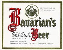Bavarian Old Style 12 oz Ohio Label IRTP