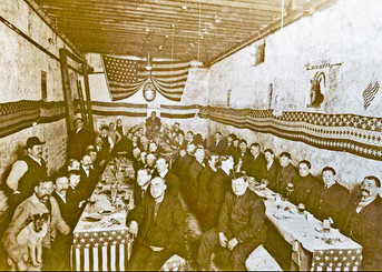 Bavarian Rathskeller, Bavarian Brewing Co., Covington, KY.  c. 1900.