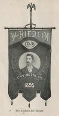 Wm. Riedlin Republican Club Banner, Covington, KY