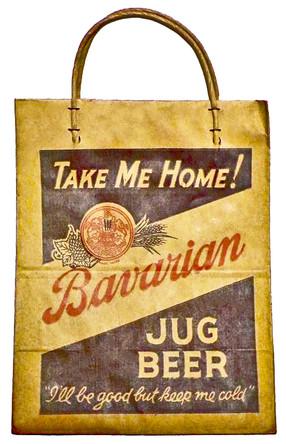 Bavarian Jug Beer Shopping Bag, Covington, KY
