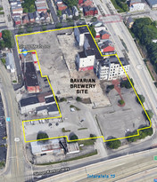 The Bavarian Brewery Site in 2015, Covington, KY