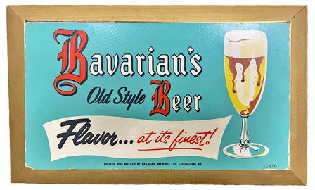 Bavarian's Old Style Beer Sign, Covington, KY.