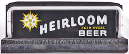 Heirloom Gold Medal Beer Lighted Sign. Heidelberg Brewing Co., Covington, KY.