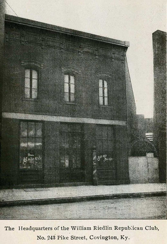 William Riedlin Republican Club Headquarters