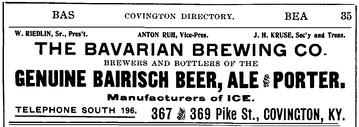1904 -5 Williams Direcotry Bavaria Ad cu