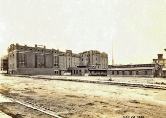 Stock Houses and former Ice Plant, Bavarian Brewing Co., Covington, KY