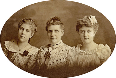 William Riedln, Sr's. Daughters and Wife.