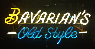 Bavarian's Old Style (Beer) Neon Sign, Bavarian Brewing Co., Covington, KY