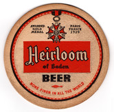 Heidelberg Heirloom Coaster. Heidelberg Brewing Co., Covington, KY.