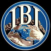 Logo for International Breweries Inc. (IBI) 1955-1966.