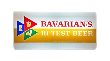 Bavarian/s Select Hi Test Beer Backlit Sign, Bavarian Brewing Co., Covington, KY.