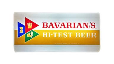 Bavarian/s Select Hi Test Beer Backlit Sign, Bavarian Brewing Co., Covington, KY.