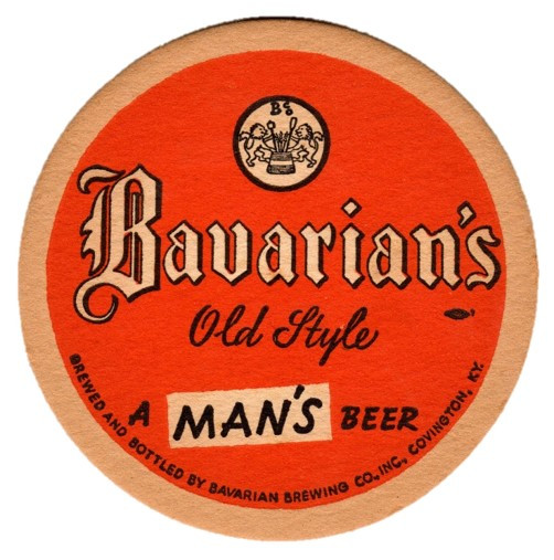 Bavarian Sm Coaster A Mans Beer Red.jpg