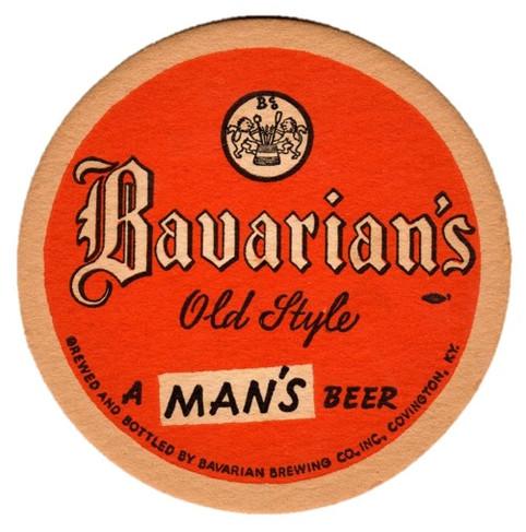 Bavarian Sm Coaster A Mans Beer Red.jpg