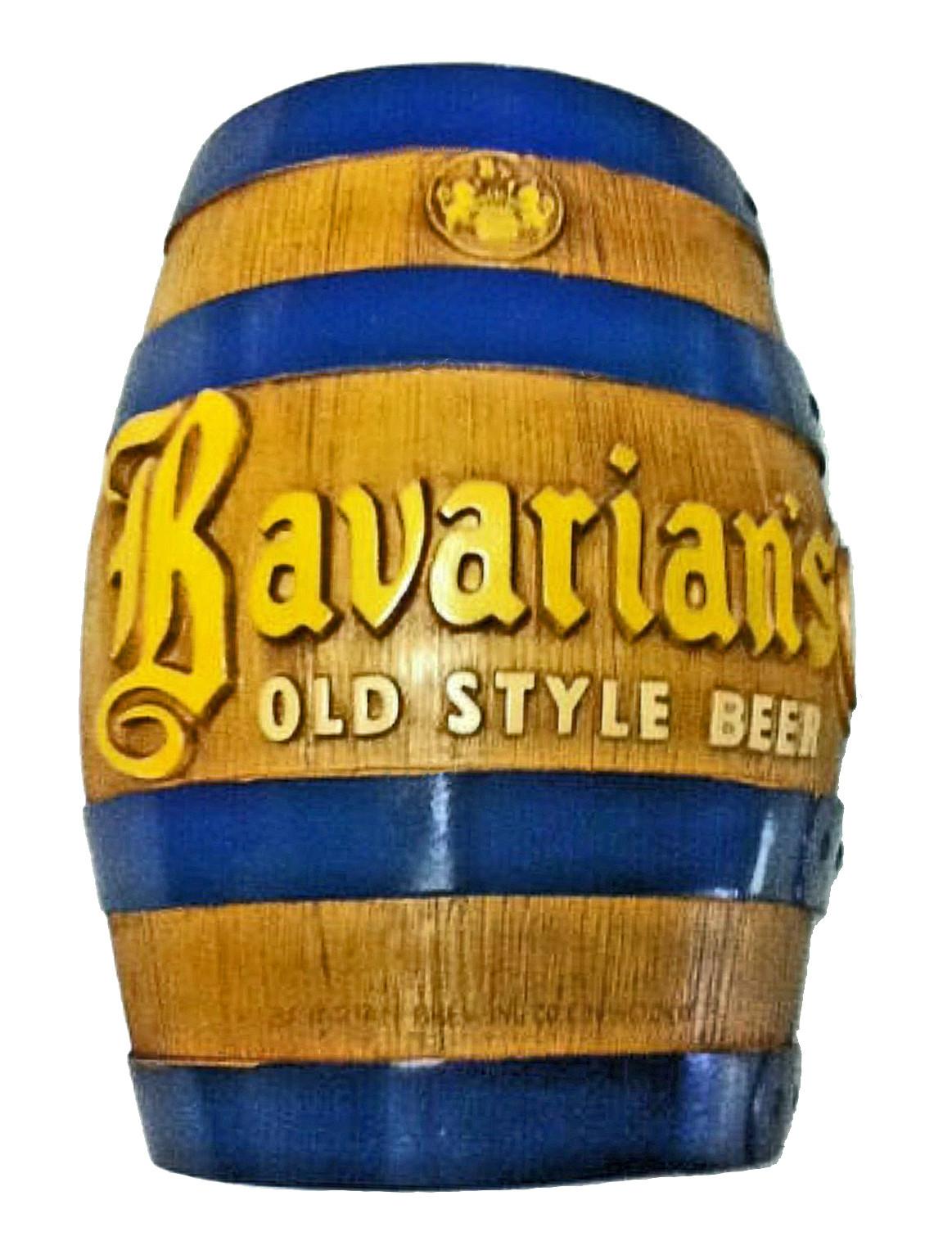 Bavarian's Old Style Chalk Half Barrel Sign, Bavarian Brewing Co., Covington, KY1.jpg