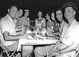 1953 5 19 Bavarian Party at Mergards Bow