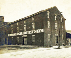 The Bavarian Brewery Building, c. 1910.