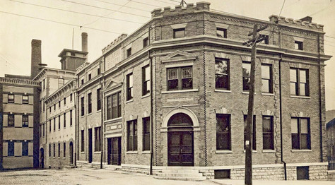 Executive Offices, Bavarian Brewing Co., Covington, KY c. 1911.