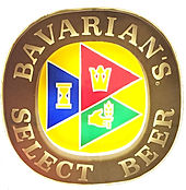 Bavarians Select Oval Sign, Bavarian Brewing Co., Covington, KY