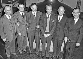Executives of Bavarian Brewing Co. at the Brew Kettle, Covington, KY