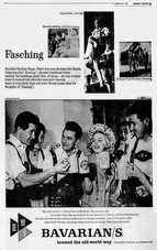 The BAVARIAN GIRL Fasching Ad - for Bavarian's Select Beer.