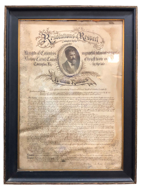 Wm Riedlin Resolution of Respect Knight
