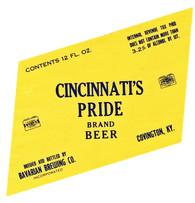 Bavarian Pride Beer 12 oz 3.2 1935-1940.