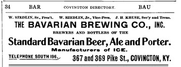 1908 - 9 Williams Cov Directory Bavarian
