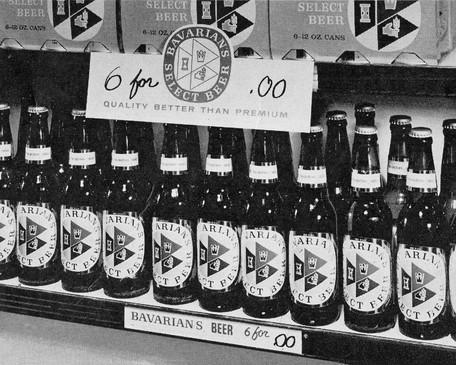 Bavarians Shelf Talker Supermarket Displ