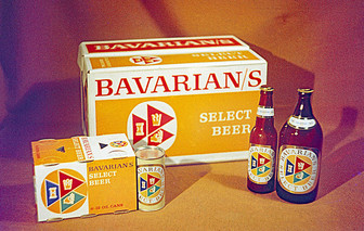 Bavarian's Select Beer Product Line in 1957, Covington, KY.