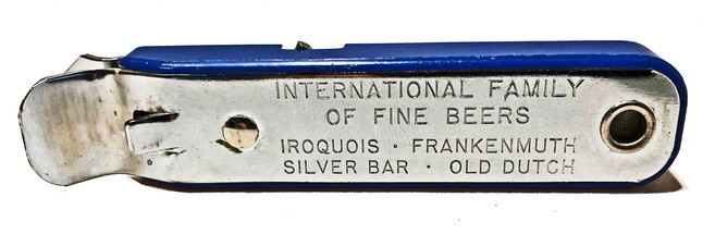 MULTIPURPOSE OPENER for International Brewers Inc. (IBI) c. 1958