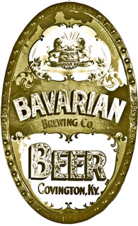 Bavarian Brewery Cin. Sandblast Co. Sign