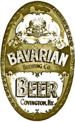 Bavarian Brewery Cin. Sandblast Co. Sign