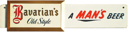 Bavarian's Old Style A Man's Beer Sign, Covington, KY.