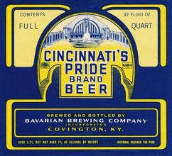 Bavarian Cin Pride Beer 32 oz Square 193