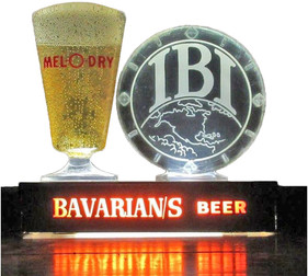 Bavarian Select Lighted Glass IBI Round