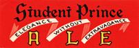 Student Prince Ale Neck Label, Heidelberg Brewing Co., Covington, KY. 1a.jpg