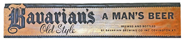 A Print Block for Bavarian's Old Style Beer, Bavarian Brewing Co., Covington, KY