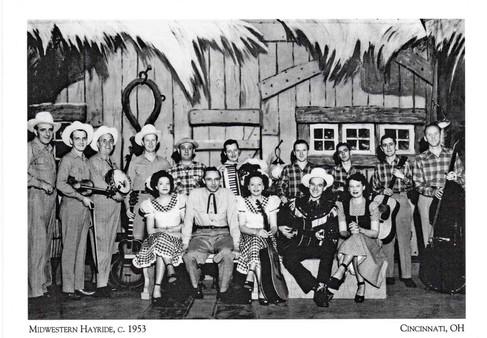 Midwestern Hayride Cast c. 1953