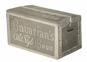Bavarian's Old Style Beer Case, Bavarian Brewing Co., Covington, KY c. 1945-1952