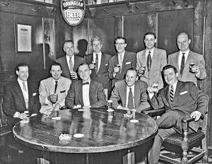 Broadcasters at the Tap Room, Bavarian Brewing Co., Covington, KY