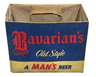 Six-Bottle Carton, Bavarian's Old Style Beer, Covington, KY